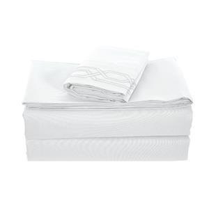 None Kanma Bed Sheet Set  - BSEM17-WHT-QN