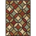 None Orian Area Rugs  - Item Number: 4321-5X8