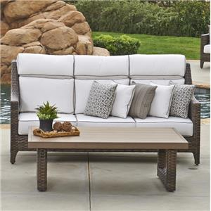 NorthCape International Avant 3 Seater Sofa w/ Cushion