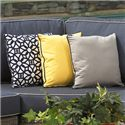 "NorthCape International Bainbridge 16"" Square Throw Pillow - Item Number: CUSHTH16"