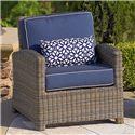 NorthCape International Bainbridge Club Chair w/ Cushion - Item Number: NC275C+CUSH275C