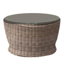 NorthCape International Bainbridge Contour Round Chat Table - Item Number: NC275CHT+GL