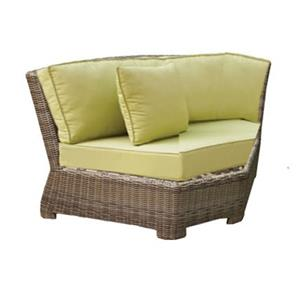 "NorthCape International Bainbridge Sectional 45"" Corner w/ Cushion"