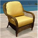 NorthCape International Berkshire Lounge Chair - Item Number: NC4182C+CUSH5182C-40014-0044