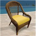 NorthCape International Berkshire Dining Chair - Item Number: NC4182DC+CUSH600RDC-48022