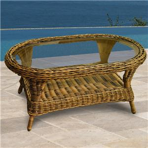 NorthCape International Berkshire Oval Coffee Table