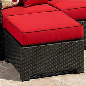 NorthCape International Cabo Square Ottoman w/ Cushion