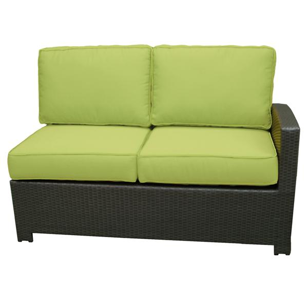 Northcape International Cabo Right Side Facing Loveseat Section W Cushion John V Schultz