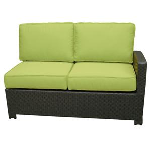 NorthCape International Cabo Right Side Facing Loveseat w/ Cushion