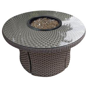NorthCape International Cabo Standard Weave Woven Fire Table