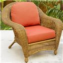 NorthCape International Charleston Chair - Item Number: NC457C-WL+CUSH600C