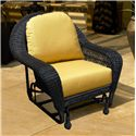 NorthCape International Charleston Single Wicker Glider