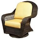 NorthCape International Charleston High Back Swivel Glider Club Chair - Item Number: NC457HSG-EX+CUSH600C