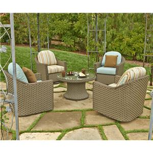 NorthCape International Covington 5 Pc. Outdoor Chat Set