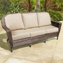 NorthCape International Georgetown NC Outdoor Sofa - Item Number: NC3244-3S
