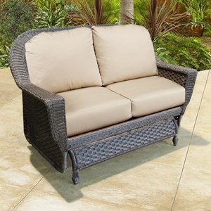 NorthCape International Georgetown NC Outdoor Glider Loveseat