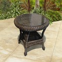 NorthCape International Georgetown NC Outdoor End Table - Item Number: NC3244-ET+GL