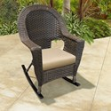 NorthCape International Georgetown NC Outdoor Rocking Chair - Item Number: NC3244-HR