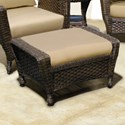NorthCape International Georgetown NC Outdoor Ottoman - Item Number: NC3244-O