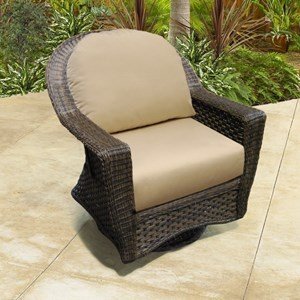 NorthCape International Georgetown NC Outdoor Swivel Glider Chair