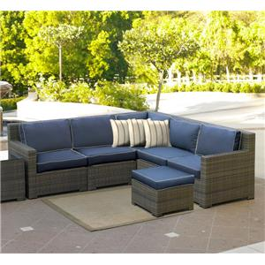 NorthCape International Malibu Outdoor Sectional