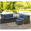 NorthCape International Malibu Outdoor 4 Seat Sectional