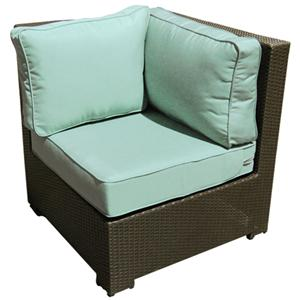 NorthCape International Malibu Sectional Corner Chair w/ Cushion