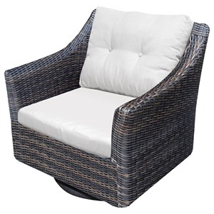 NorthCape International San Marino Outdoor Swivel Rocker