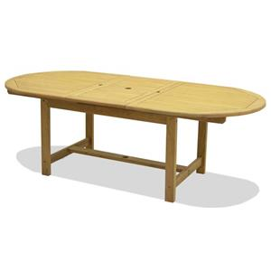 NorthCape International Teak Jameson Extension Dining Table