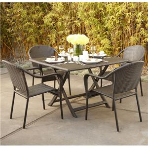 "NorthCape International Villa 42"" Bistro Set"
