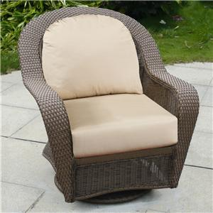 NorthCape International Winward Swivel Glider w/ Cushion