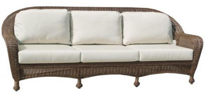 Northcape International Wyndham Nc3280 3s Casual 3 Seater Sofa With Curved Arms John V Schultz