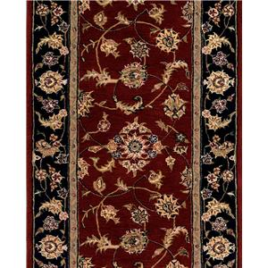 "Nourison 2000 Series 30"" Runner : Burgundy"