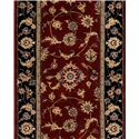 "Nourison 2000 Series 30"" Runner : Burgundy - Item Number: 896002309"