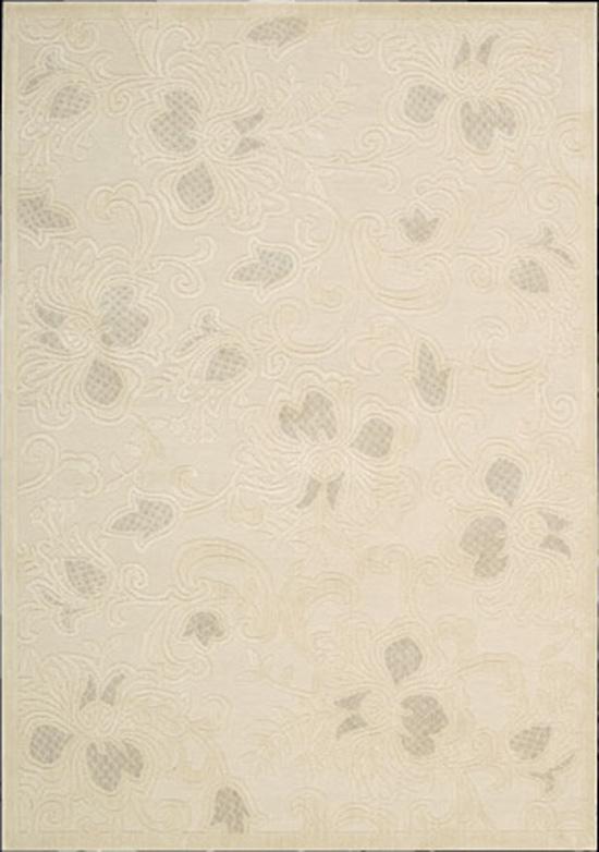 Nourison Graphic 7.9 x 10.10 Area Rug : Cream - Item Number: 968362043