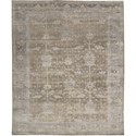 "Nourison Aldora 5'6"" x 8' Pewter Area Rug - Item Number: 32405"