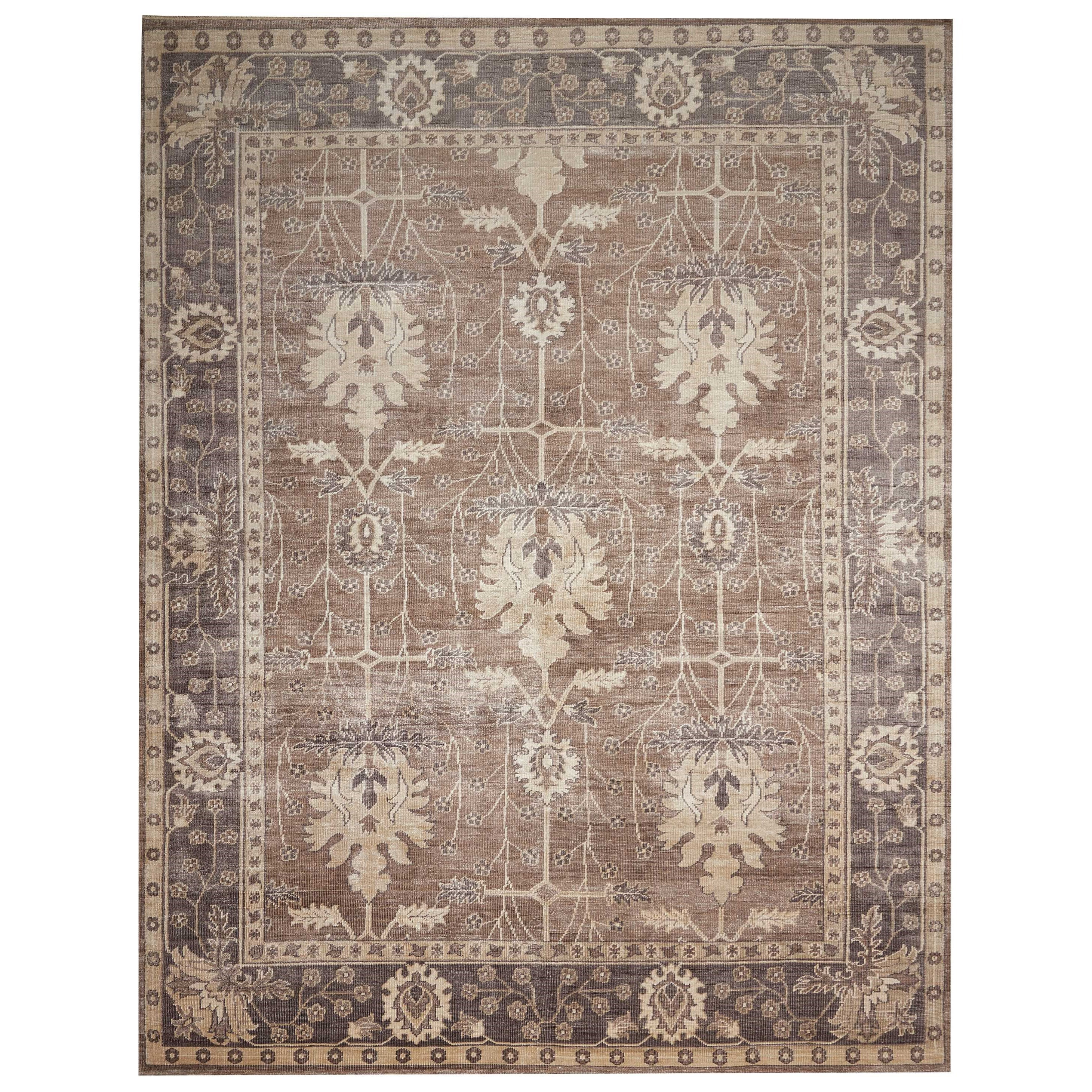 """Aldora1 5'6"""" X 8' Opal/Grey Rug by Nourison at Home Collections Furniture"""