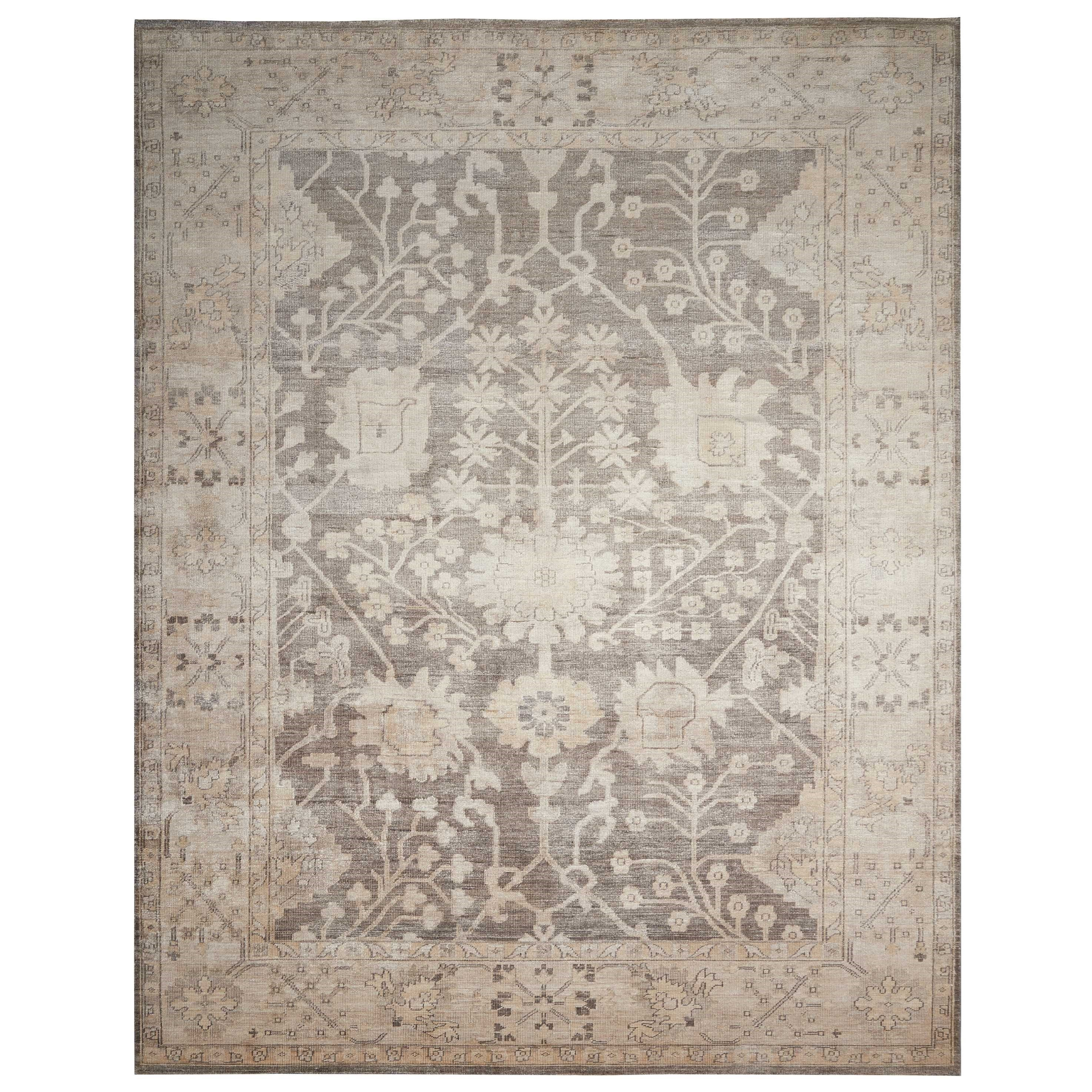 "Aldora1 9'9"" X 13'9"" Aubergine Rug by Nourison at Home Collections Furniture"