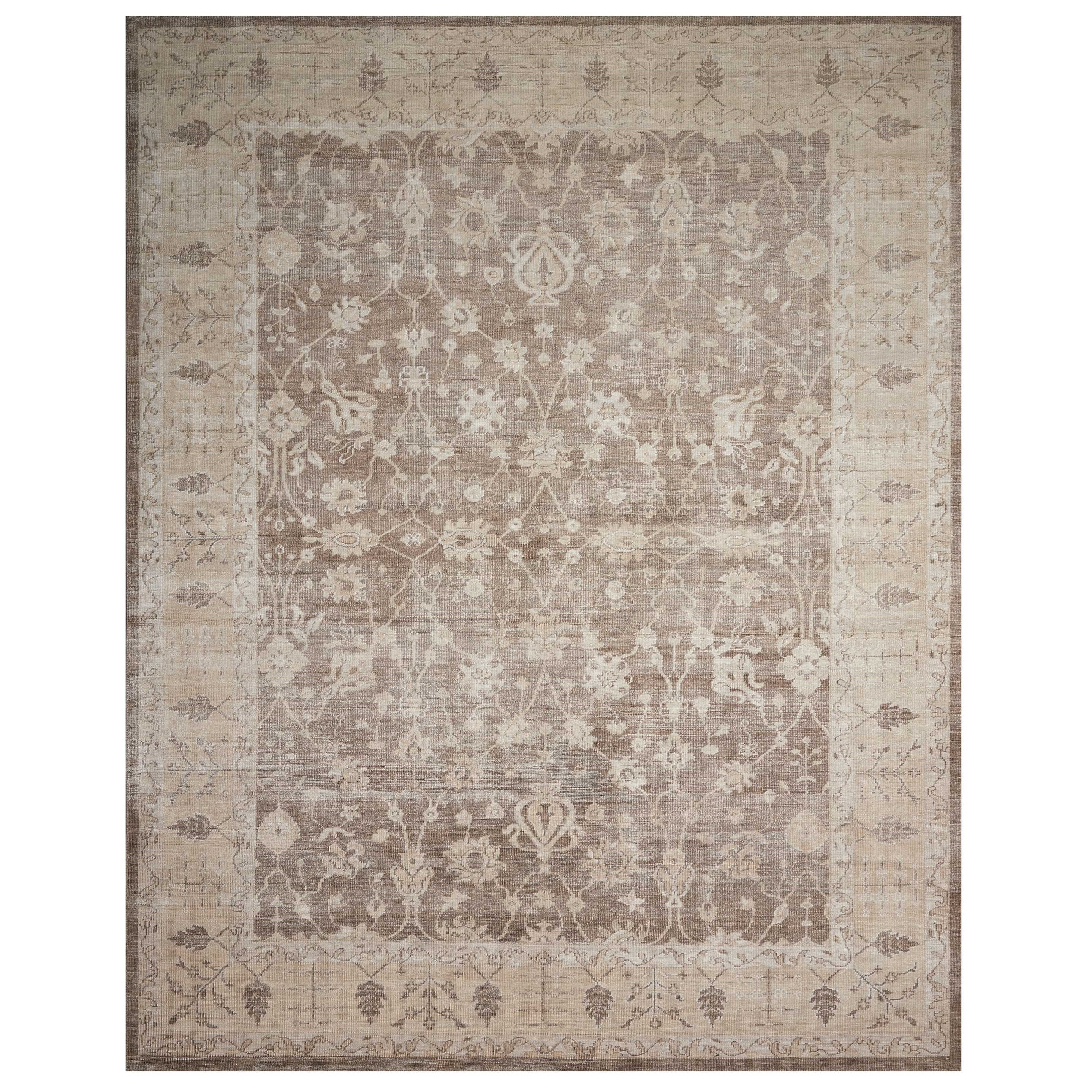"Aldora1 9'9"" X 13'9"" Sand Rug by Nourison at Home Collections Furniture"