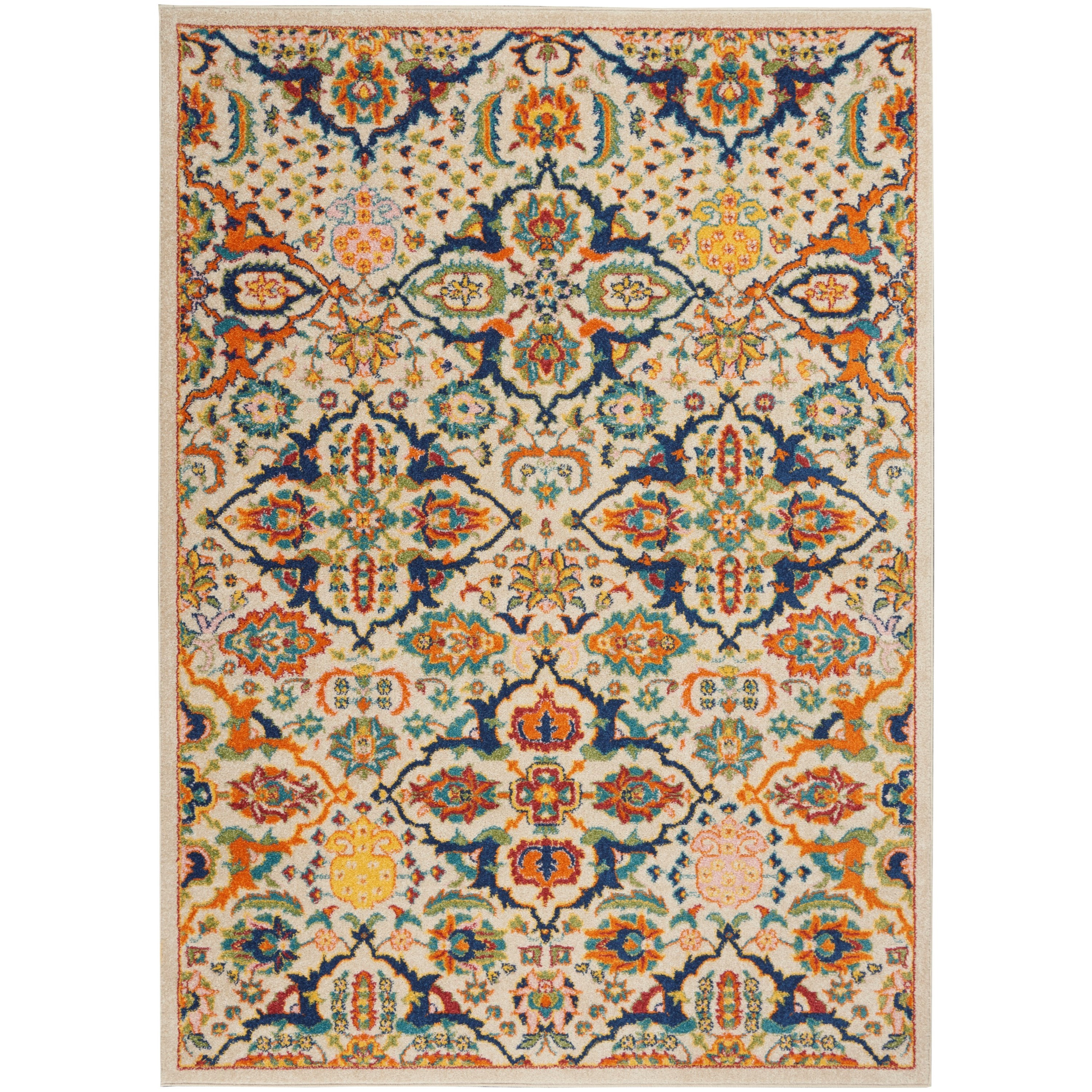 Allur 2020 4' x 6' Rug by Nourison at Home Collections Furniture