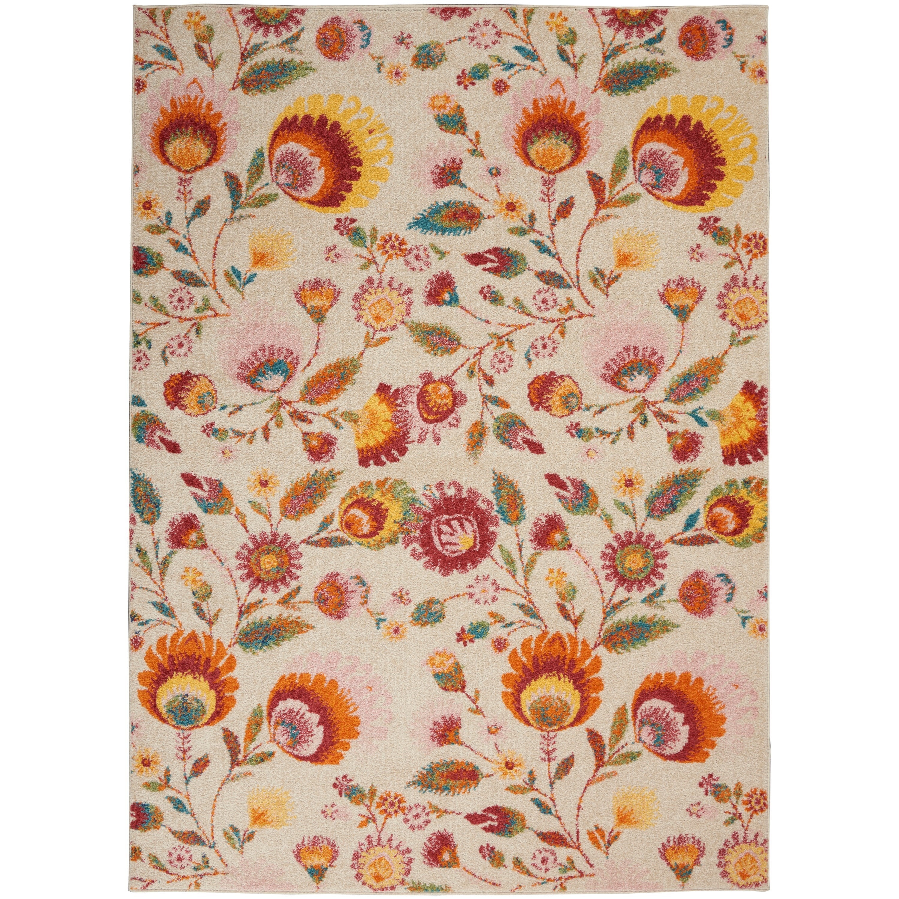 Allur 2020 5' x 7' Rug by Nourison at Home Collections Furniture