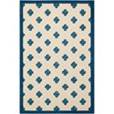 "Nourison Aloha 2'8"" x 4' Navy Rectangle Rug - Item Number: ALH02 NAV 28X4"