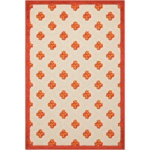 "Nourison Aloha 2'8"" x 4' Red Rectangle Rug"