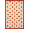 "Nourison Aloha 2'8"" x 4' Red Rectangle Rug - Item Number: ALH02 RED 28X4"
