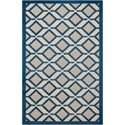 "Nourison Aloha 2'8"" x 4' Navy Rectangle Rug - Item Number: ALH03 NAV 28X4"