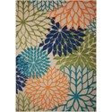 "Nourison Aloha 9'6"" x 13' Multicolor Rectangle Rug - Item Number: ALH05 MTC 96X13"