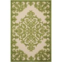 "Nourison Aloha 2'8"" x 4' Green Rectangle Rug - Item Number: ALH12 GRE 28X4"