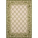 "Nourison Aloha 5'3"" X 7'5"" Green                Rug - Item Number: ALH16 GRE   53X75"