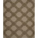 "Nourison Ambrose 7'9"" x 9'9"" Almond Area Rug - Item Number: 04696"