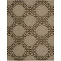"Nourison Ambrose 5'6"" x 7'5"" Almond Area Rug - Item Number: 04697"